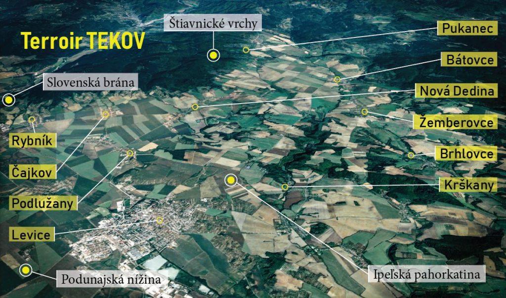 Mapa Terroir TEKOV